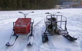 Лыжи для самодельного снегохода