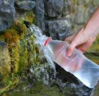 Вода из родника польза и вред