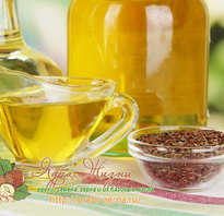 Для чего используют льняное масло