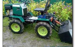 Мини трактора для домашнего хозяйства самоделки