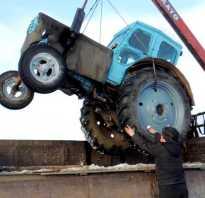 Перевозка трактора мтз 82