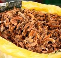 Свойства настойки на перегородках грецких орехов