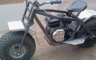 Мотоцикл вездеход своими руками