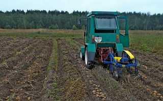 Самодельная грохотная картофелекопалка для трактора