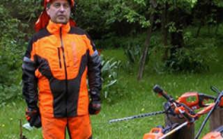 Электрокосилка для высокой травы и неровных участков