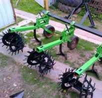Самодельный окучник для трактора