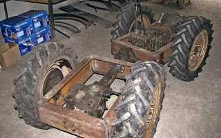 Трактора самоделки переломки