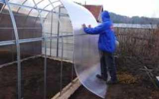 Как крепить поликарбонат к металлическому каркасу теплицы