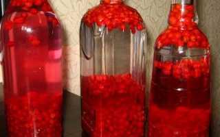 Настойка из ягод на водке