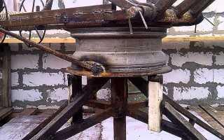 Самодельная крановая установка