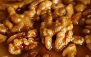 Грецкие орехи с медом для женщин рецепт