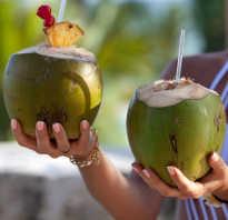 Сок кокоса польза и вред