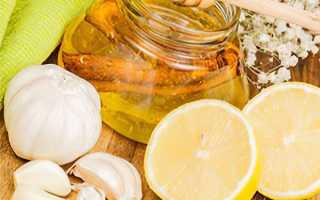 Чеснок лимон и мед рецепт приготовления