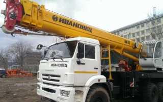 Кран ивановец 25 тонн технические характеристики