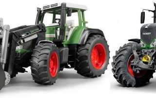 Трактора фендт модельный ряд