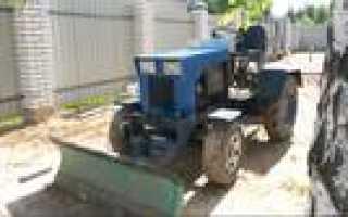 Самодельные трактора с ведущим мостом от электрокары