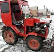 Самодельный трактор с двигателем от мотоцикла