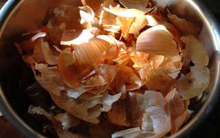 Отвар луковой шелухи польза