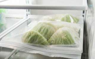 Можно ли использовать замороженную капусту