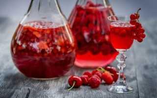 Настойки из ягод в домашних условиях