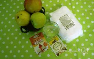 Зефир из яблок с агар агаром