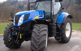 Нью холланд т7060 технические характеристики