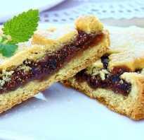 Быстрое тесто для пирога с вареньем