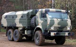 Камаз 5350 военный технические характеристики