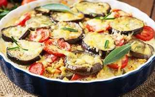 Как приготовить баклажаны с помидорами и чесноком