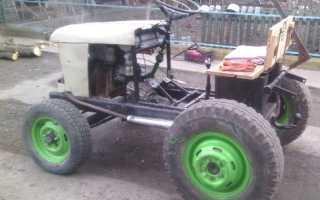 Самодельное навесное на трактор видео