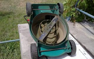 Газонокосилка своими руками из стиральной машины видео