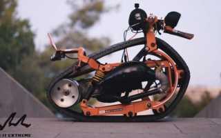 Гусеница на мотоцикл своими руками чертежи