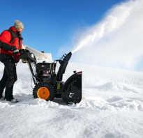 Снегоуборочная машина на мотоблок