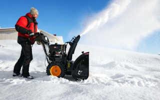 Мотоблоки для уборки снега